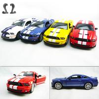soft world FORD cobra shelby gt500 alloy car model
