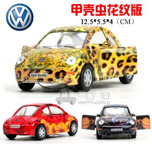 soft world vw beetle decorative pattern WARRIOR car alloy car model