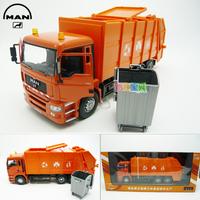 Accessplatforms Bureau car garbage truck gift box set alloy car model