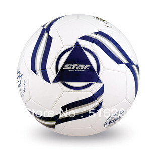 Q318 PVC football SB5155 professional practice game soccer ball sports product high quality free shipping