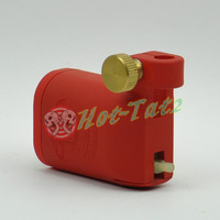 Red Colour Tattoo Gun Top Rotary Motor Tattoo Shader Liner Machine Gun Free Shipping