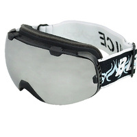 Ski eyewear spherical snow glasses double antimist spherical ski eyewear outdoor skiing