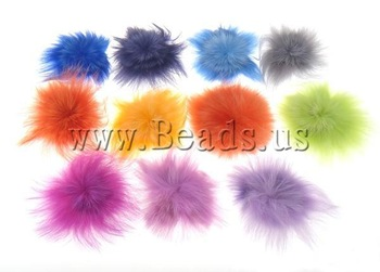 Girls' Hair Accessories fox hair multi colors Wholesale 100pcs/lot