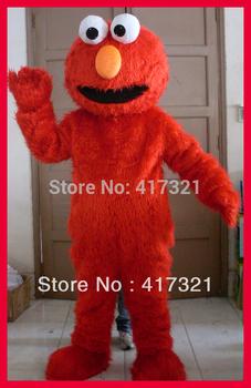 adult sesame street elmo mascot costume