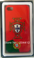 Portugal Soccer Cell Phone Hard Case Cover for Apple iPhone 4 4s W/ Packing