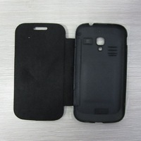 Flip Leather Case  for Samsung Galaxy Ace2 i8160 free shipping