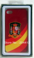 Espana Spain Soccer Hard Cell Phone Case Cover for iPhone 4 4s W/ Original Packing