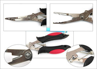 fishing tool / fishing plier ,fishing grip ,stainless ,  with free pouch
