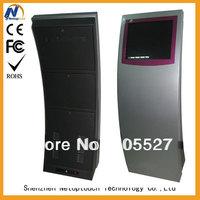 Touch screen kiosk for advertising