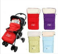 Free Shipping Newborn Baby Sleeping Bags Winter Baby Sleepsacks for Stroller Cart Basket Infant Fleabag Thick Multifunctional(China (Mainland))