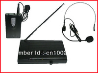 NEW VHF WIRELESS Lapel Headset MICROPHONE MIC SYSTEM PRO
