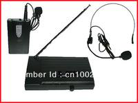 NEW VHF WIRELESS Lapel Headset MICROPHONE MIC SYSTEM PRO