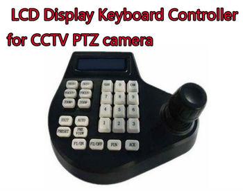 LCD display Keyboard Controller for CCTV PTZ Camera