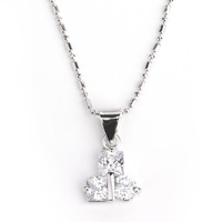 Brief fashion zircon necklace short design chain fashion girlfriend gifts birthday gift