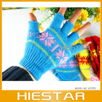 Magic fingerless flip mittens cut off texting gloves