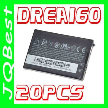 20pcs DREA160 BA S370 Battery For HTC Mobile Phone G1 Dream Dream 100 Google G1 T-Mobile G1 A7171