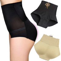 Charming Sexy women underwear high waist padded seamlesspanties butt hip enhancer body shaper panties Underwear