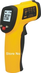 hot!!GM300 Digital Non-Contact Laser IR Thermometer INFRARED THERMOMETER GM300 -50 degree to 380 degree for industry(China (Mainland))