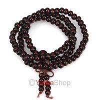 Wholesale - 12pcs Unisex Sandalwood Buddha Bead Buddhist Lucky Stretchy Bracelet 261558