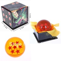 Free Shipping New In Box Japan Anime DragonBall 7 Stars Crystal Ball Seven/7 Star Dragon Ball Z Rubber Material