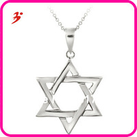 free shipping popular star of David pendant necklace jewelry