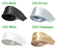 5cm Narrow Skinny Tie Slim Necktie Men's Solid Casual Neck Tie,35 Different Colors free shipping