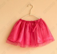 baby girl's Skirts 302405 tutu kids children dance Girls veil skirt 1227 B geq