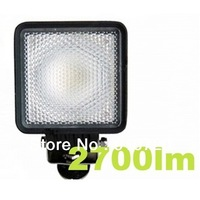 "170"" 30W Waterproof IP68 DC 10-30V 6000K 2700lm wide flood beam Car Working Light 2PCs/lot CDD07-170D"