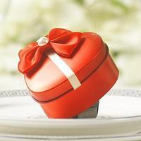 Quality Guarantee with LOW Price + Free Shipping, 12 pcs/lot heart shape favor tin box, wedding  box, candy box