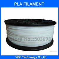 1.75mm White PLA Filament with Spool 1kg for 3D Printer MakerBot, RepRap and UP