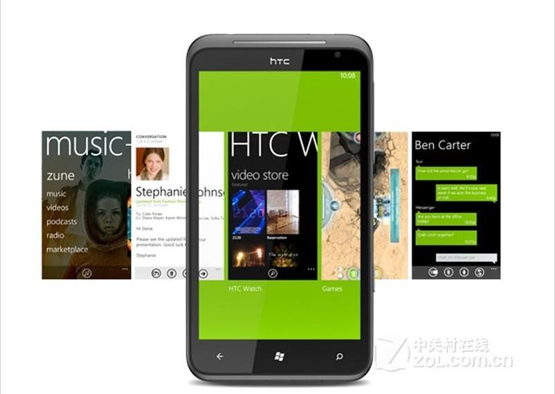 5pcs/ lot Refurbished Original HTC Titan X310e Windows Phone 7.5 Mango with the front camera GPS wifi free shipping(China (Mainland))