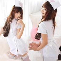 White one piece nursing uniforms nurse clothing sauna technicalness service photo service