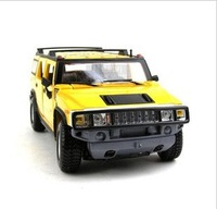 Maisto 1:24 Hummer H2 SUV Alloy Modle Car Blue/Yellow 2 Colors