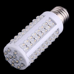 Free shipping 7W warm white/white led lighting AC 220-240V 108 LED E27 led bulb lamp Corn Light Bulb(China (Mainland))