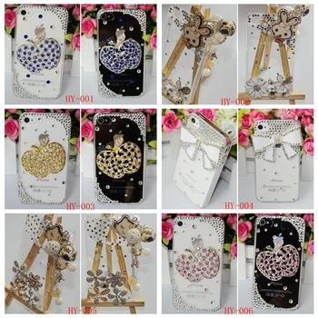 1 pcs for TCL A939 A919 A919 A986 S800 S600 handmade Customized Luxury Elegant Diamond peacock Bling Hard Case Cover Accessory