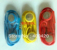 Color headphones for apple/headphones for iPhone 5 iphone 4S/earphone for ipad3/headset for iphone 4/5/Free shipping/(10pcs/bag)