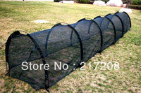 Pop-up agricultural greenhouse, flower and vegetable cover,5 tier net tunnel with opening on both sides