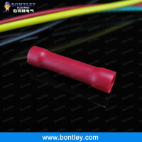 BV1 Red Vinyl Insulated Butt Connectors & Splices For 0.5-1.5mm2 , 22-16 AWG Wire