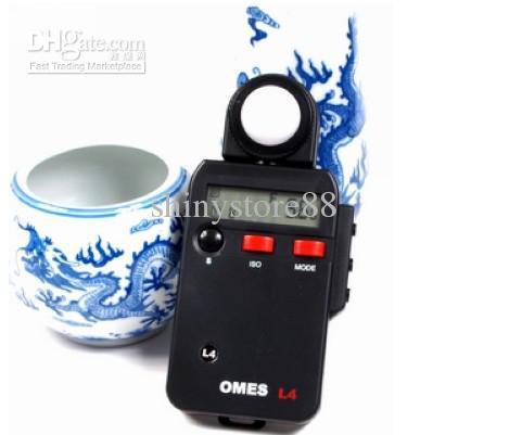 "OMES L4 Light Meter 2.0"" LCD Digital Flash Light Meter Tester For DSLR SLR Camera(China (Mainland))"