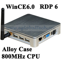 Thin Client Wifi WinCE6.0 800MHz CPU High Speed for Unlimited Multi User Share with Alloy Metal Case Office Networking Terminal