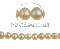 Natural Round Cultured Freshwater Pearl Beads, A grade, miracle pink, 5-6mm, Hole:Approx 0.8mm, Sold per 14.5-inch Strand