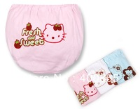 Cartoon Kitty girls cotton panties,kid&amp;#39;s bread briefs,children&amp;#39;s underwear,wholesale 72pcs random delivery