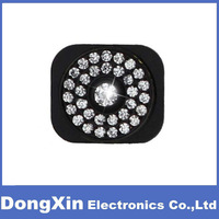 50PCS X Sparkling Rhinestone Home Button Replacement For iPhone 5 5G