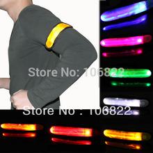 New LED Armband Safety Reflective Flexible Visible Colors Hiking Running Jogging Biking Free Shipping SL00260