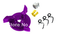 Free shipping Savage rc car parts Purple Flywheel and 3 block Clutch Shoes