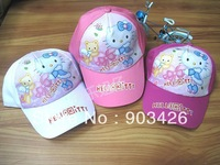 Free Shipping!50pcs/Lot Fashion Cartoon Children Hello Kitty The Explorer Kids Hat G2184 on Sale Wholesale