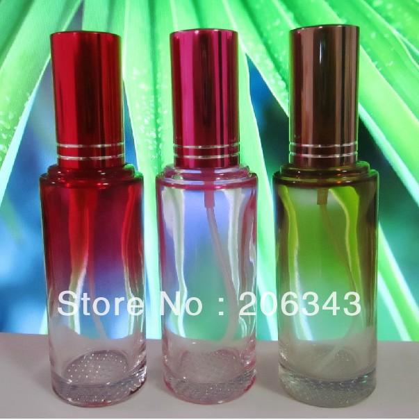 50MLglass perfume atomizer bottle used for perfume packaging or perfume sprayer(China (Mainland))