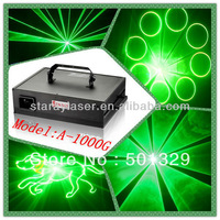 A-1000G Professional Single Green Animation laser light stage light