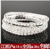 Hot-selling small accessories single row rhinestone elastic bracelet diamond bracelet jewelry female b11