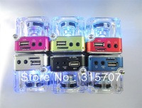 4pcs/lot mini portable speaker for mp3/mobile phone/pc/DVD player/desktop/sd card